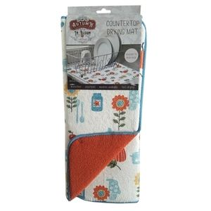 Kay Dee Designs Kitchen - 🆕Kay Dee Designs Autumn in Bloom Drying Mat
